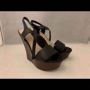 Black Wedge Shoe